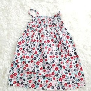 Girls floral sleeveless dress Sz 24M